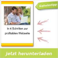In 4 Schritten zur profitablen Webseite